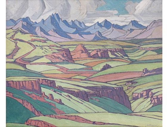 Pierneef maluti mountains